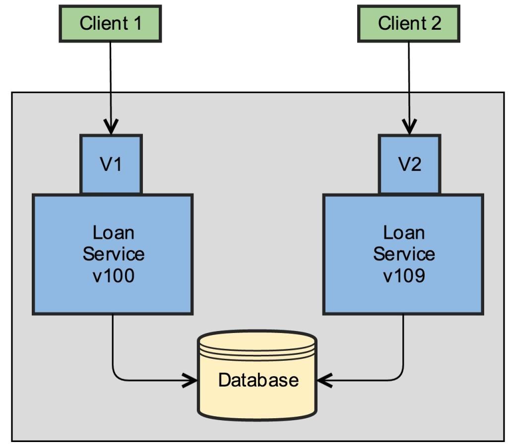 Versioning - Coexisting Servers